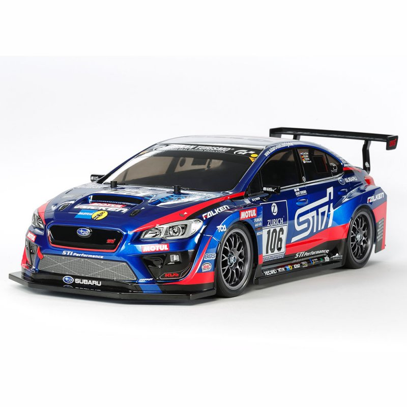 Tamiya's Subaru WRX STI 24h Nurburgring Kit - RC Newb