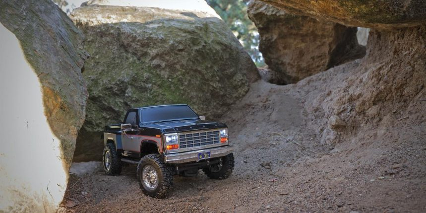 See it in Action: Team Associated's CR12 Ford F-150 Trail Truck