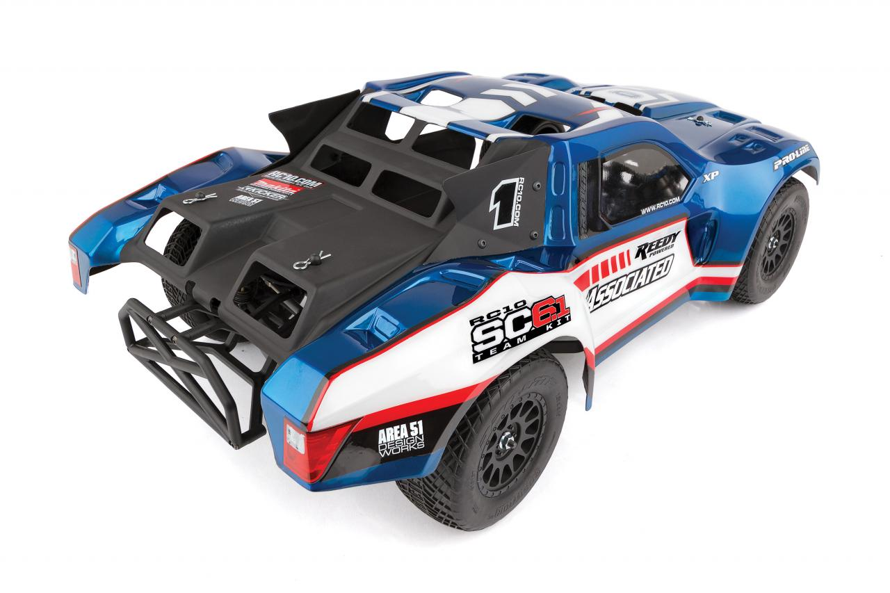 Team Associated RC10 SC6.1 - Rear