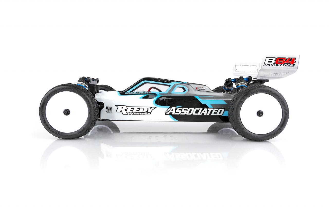 Team Associated RC10B64 Club Racer Kit - Side