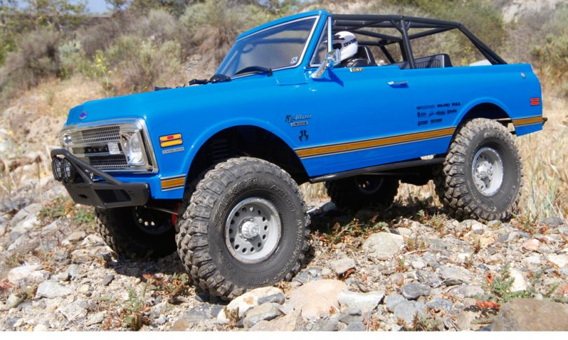 Enter to Win a Customized Axial SCX10 II '69 Chevy Blazer from Tower Hobbies