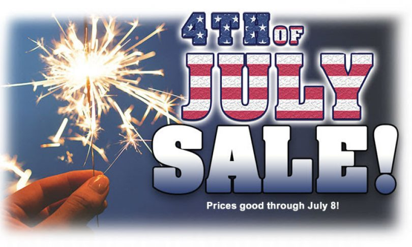 Tower Hobbies 4th of July Sale