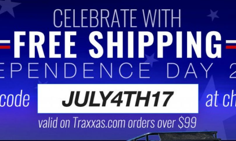 Traxxas is Celebrating the 4th of July with Free Shipping