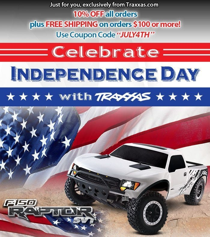 Traxxas 4th of July Sale