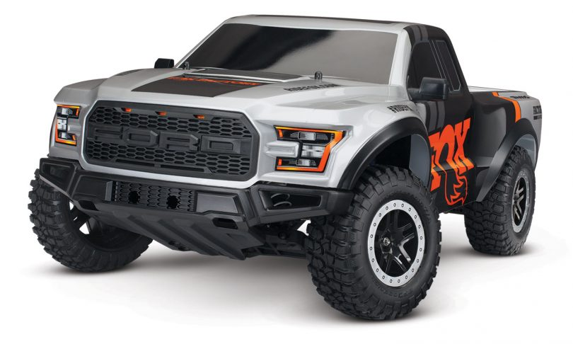 Traxxas Ford Raptor: FOX Racing Edition