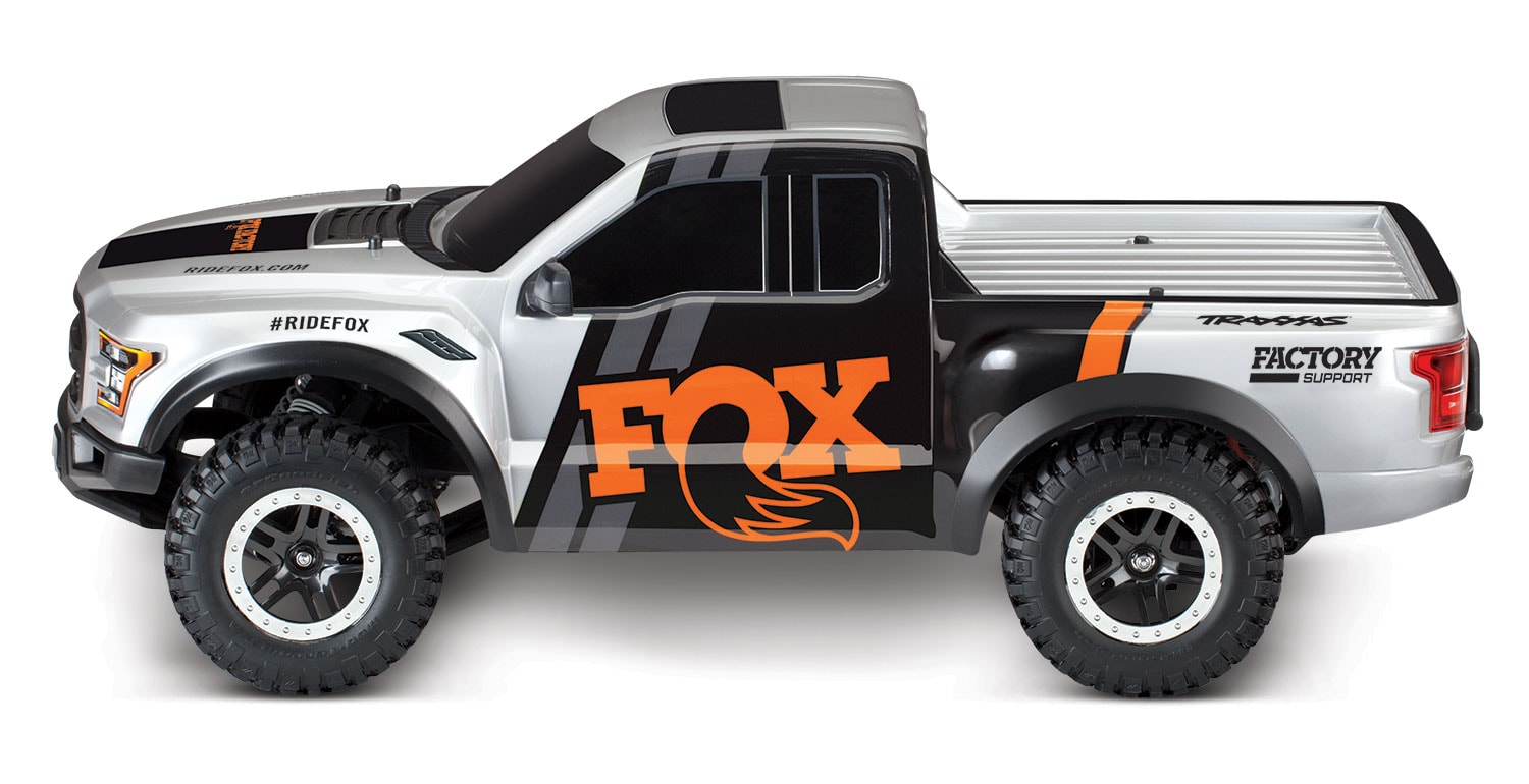 Traxxas FOX Raptor - Side