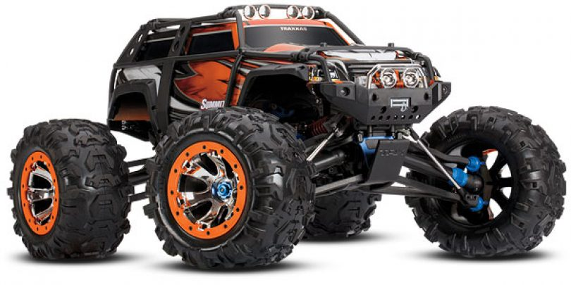 Traxxas Updates the Summit with a New Orange Color Option