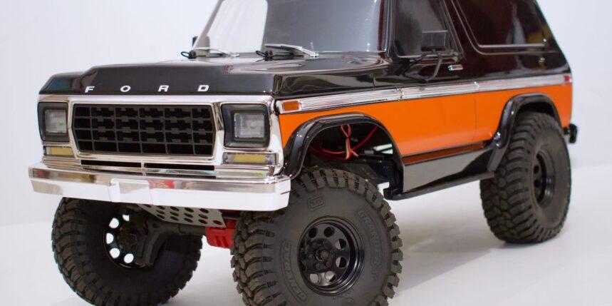 Review: Traxxas TRX-4 Ford Bronco Body Kit