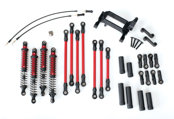 Traxxas TRX-4 Long Arm Lift Kit - Components