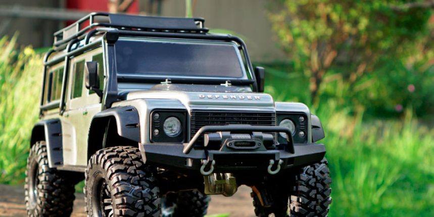 Traxxas TRX-4 1/10 Scale and Trail Rig