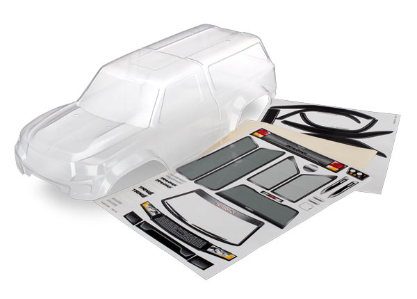 Traxxas TRX-4 Sport Camper Body - Clear