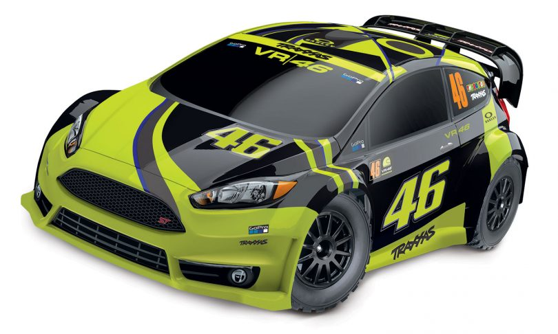 Traxxas Ford Fiesta ST Rally – Valentino Rossi Edition