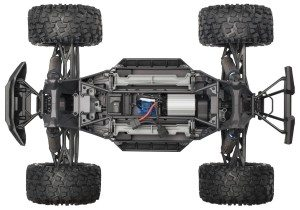 Traxxas X-Maxx Chassis (Top)