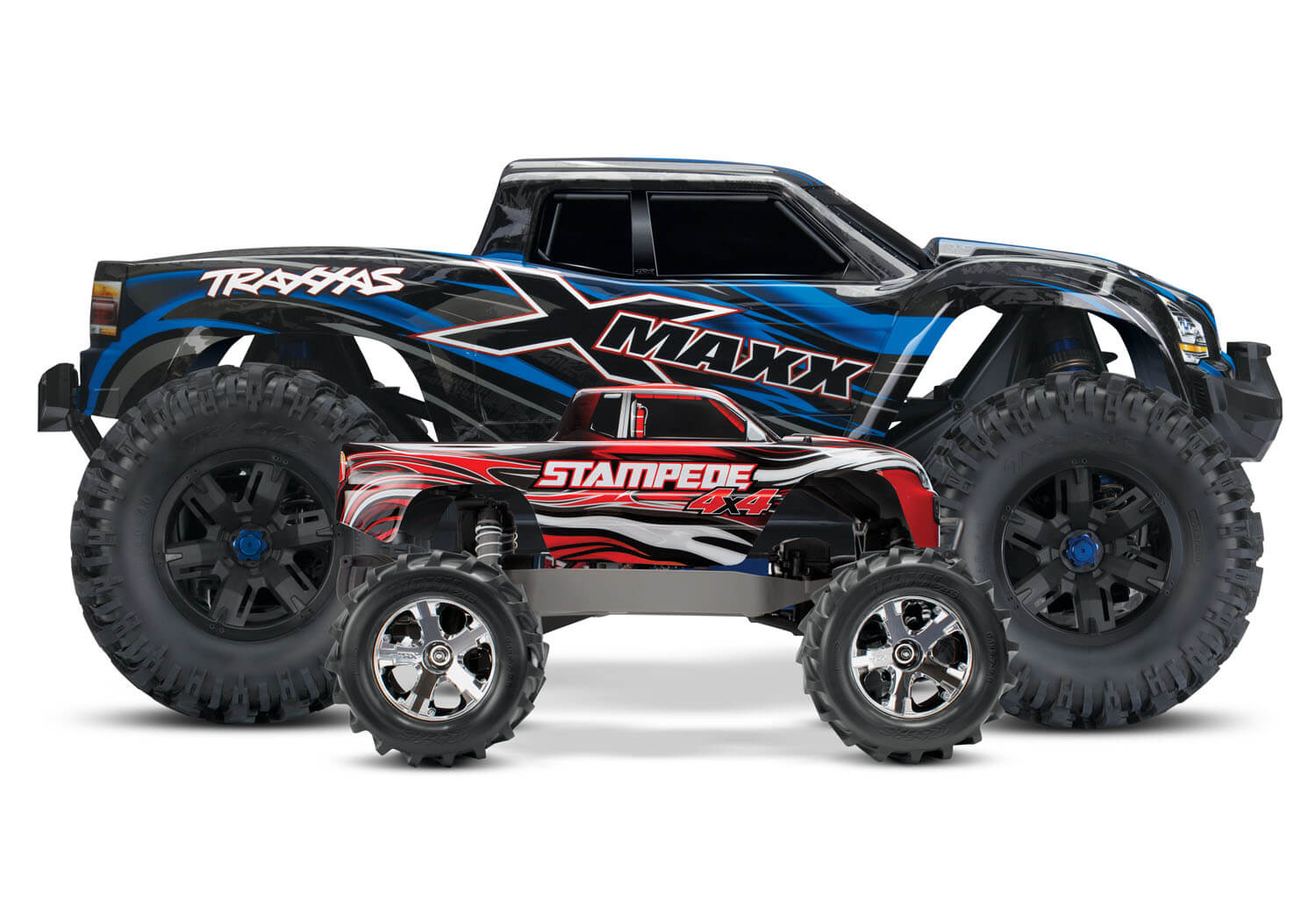what is the biggest scale rc car with Traxxas Rocks The Rc World With X Maxx on Everybodys Scalin For The Weekend Bigfoot 4x4 Monster Truck Spooktacular in addition 563052 Tested Axial Yeti Score Rc Truck in addition Trigger King Rc Mud And Monster Truck Series 24 likewise 42788 besides You Could Probably Ride To Work On This Badass 13 Scale Rc Truck.