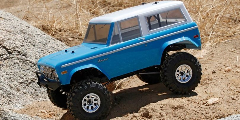 Venture Outdoors with Vaterra's 1972 Ford Bronco Ascender 4WD RTR