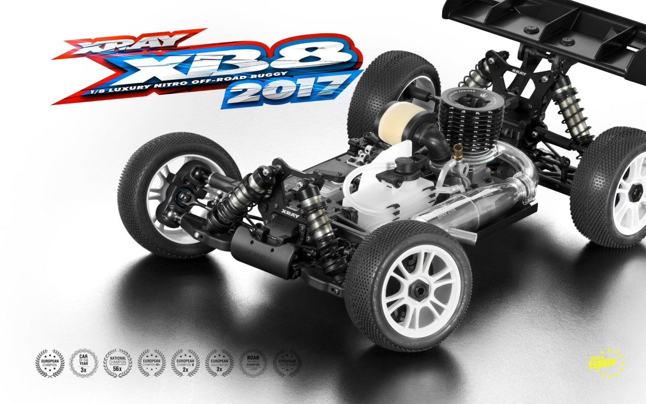 XRay XB8 Chassis 2