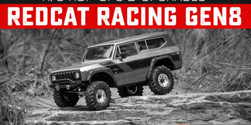 Upgrades and Hop-ups for the Redcat Racing GEN8