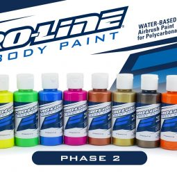 Pro-Line Adds 12 New Paint Options to Their Lineup