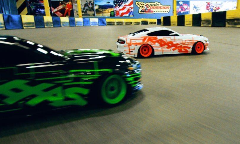 Drift Duel: Watch Two Traxxas Ford Mustang GTs Do Battle [Video]