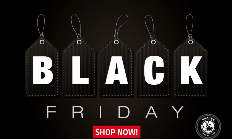 Save 25% During Kraken's Black Friday Sale
