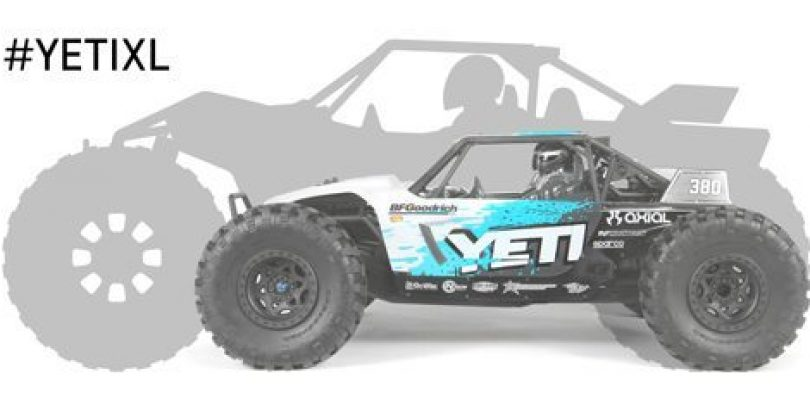 Axial Super-sizes the Yeti