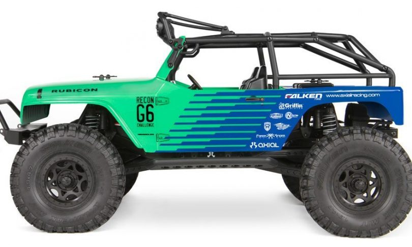 Axial rolls out another Jeep RTR – G6 Falken Edition